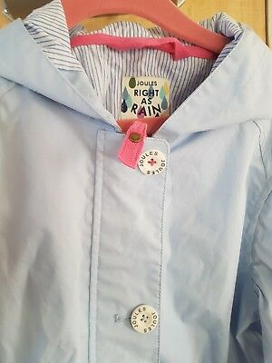 Joules Girls Summer Coat VGC Age 9-10 years