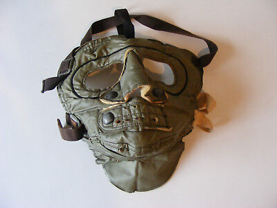 Vintage Face Mask US Military Extreme Cold Weather Olive Green