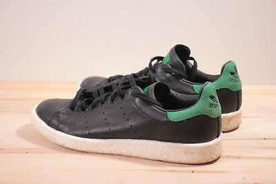 finest selection 7f4f1 ec006 ADIDAS STAN SMITH Boost black green men's 10 sneakers shoes
