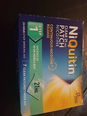 21mg niquitin clear patches