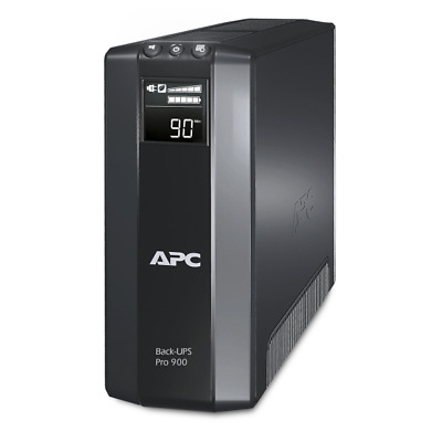 APC BR900G-GR Back-UPS Pro Line-Interactive 900VA Black uninterruptible power