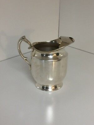 vintage silverplate pitcher Poole Silver Co. epca 1023A