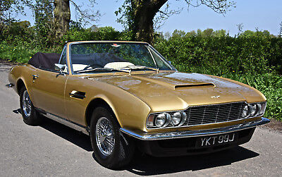 1970 ASTON MARTIN DBS 6 VOLANTE   ( Convertible ) AUTOMATIC  1 of only 6 built !