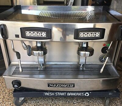 Mr. Expresso Commercial Cappuccino and Grinder Machine