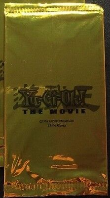 Yugioh The Movie SEALED Booster Pack Promo Gold MOV 2004 - FREE SHIPPING