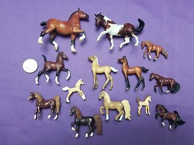 Mini Horse Mixed Lot Breyer Reeves Empire Miniature Horses