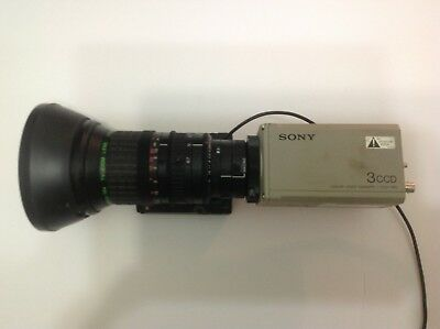 Sony Color Video Camera 3CCD.   With lense Medical photography