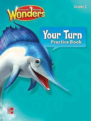 READING WONDERS, GRADE K, Your Turn Practice Book, Paperback by