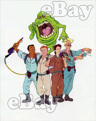 Rare! SLIMER AND THE REAL GHOSTBUSTERS Cartoon TV Photo SATURDAY MORNING CARTOON
