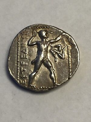 Ancient Circa 380-325 BC. Pamphylia Aspendos AR Stater Wresters/Slinger