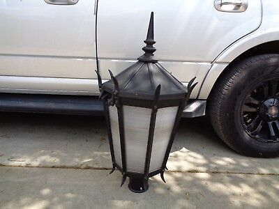 Vintage   Ornate Style Old Metal Streetlights (Traffic)