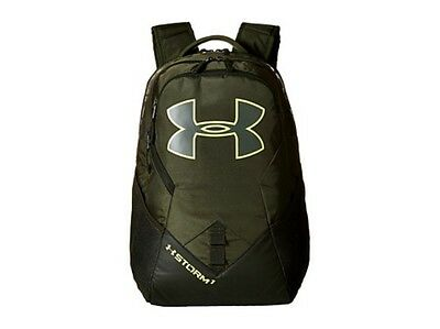 New Under Armour Storm Big Logo IV Backpack, Dwntn Green/Artillery Green/X-Ray