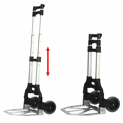 100Kg Heavy Duty Light Folding Foldable Hand Sack Truck Barrow Cart Trolley Top