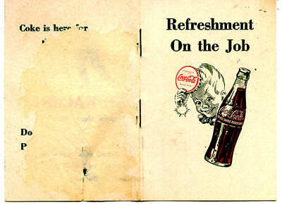 Coca-Cola Marketing Brochure Targeting Employers To Supply Coke To Employees