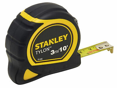 Stanley Tools Tylon Pocket Tape 3m/10ft (Width 13mm) STA130686N