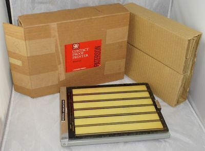 Paterson 35mm Size Contact Proof Printer in Original Box Made in England