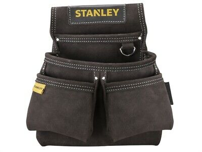 Stanley Tools STST1-80116 Leather Double Nail Pocket Pouch STA180116