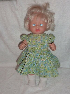 "Little Mommy Ah Choo Baby Has a Cold 14"" Doll Works TALKS  Mattel 2007  A6"
