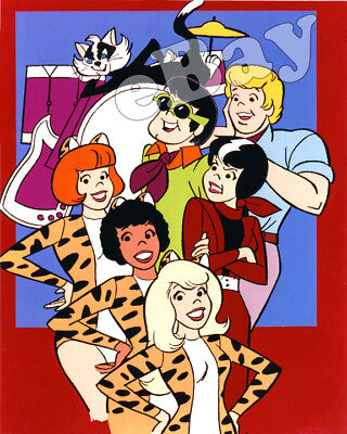 Rare! JOSIE AND THE PUSSYCATS Cartoon Color TV Photo HANNA BARBERA Studios