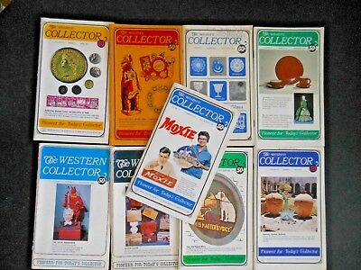 Group Lot 9 The Western Collector Antiques Art Magazine 1968-1972 Coins Stamps