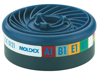 Moldex EasyLock ABEK1 Gas Filter Cartridge (Wrap of 2) MOL9400