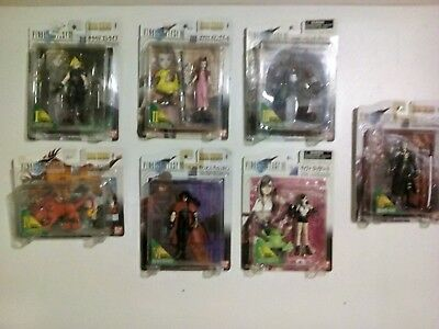 Never opened Final Fantasy VII 7 Extra Knights Figures Bandai lot of 7.