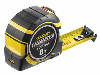 Stanley Tools FatMax Autolock Pocket Tape 8m (32mm) (Metric) STA033501