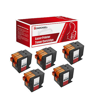 5PK Compatible ISINK4HC IMINK4HC 4145711Y Ink For Neopost & Hasler IS440 IS460