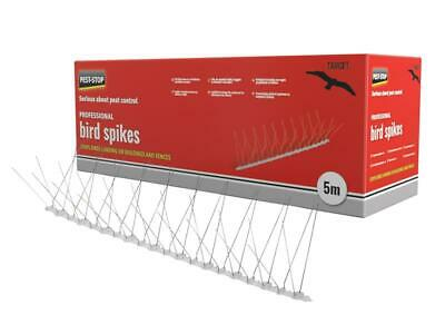 Pest-Stop Systems Professional Bird Spikes 10 x 500mm Metal Strips PRCPSPBS10