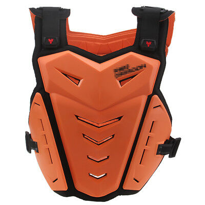 Motocross Roost Chest Protector Adult MX ATV Back Armor BMX Off Road Street