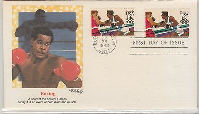UNITED STATES 1983-4 OLYMPIC FDI Cover Boxing