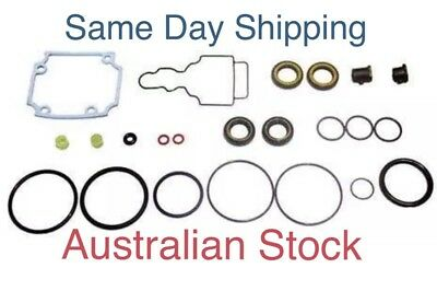 New Yamaha Lower Unit Gearcase Gearbox Gasket Seal Kit 25 30 HP CV 61N-W0001-21