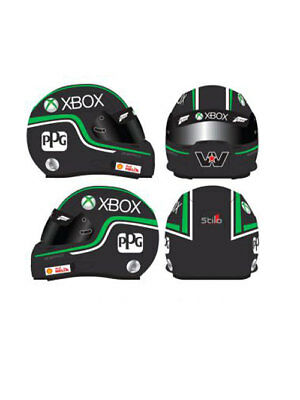 Marcos Ambrose Xbox Limited Edition 1:2 Scale Mini Helmet Mh201503 Supercars