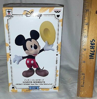 New Banpresto Lovers Moments Mickey Mouse Figure! A! Japan! Us Seller! Free Ship