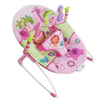 Bright Starts Safari Baby Bouncer SEAT COVER Replacement Pink model 60116