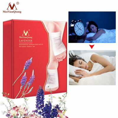 MeiYanQiong Cleansing Detox Foot Pads Patches Nourishing Lavender Foot Patch