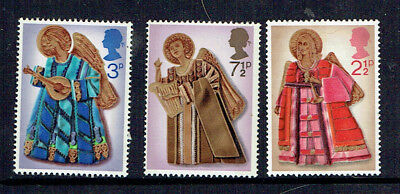 UK 1972 Christmas Stamps Complete Set - MUH