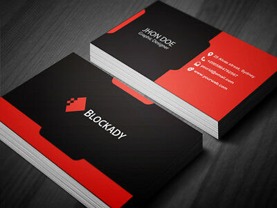 Business Cards Double Sided, or Single Single Sided With Free Delivery