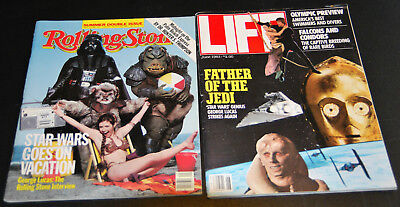Star Wars Return of the Jedi Rolling Stone No. 400-401 1983 and Life June 1983