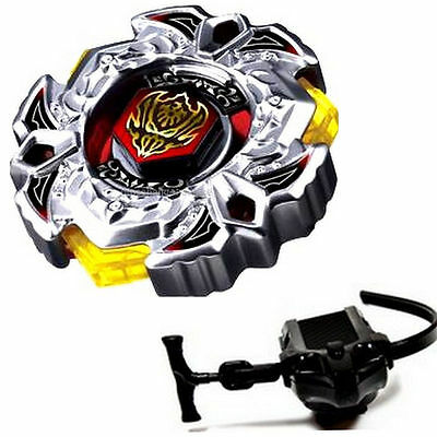 BB114 Variares Beyblade Metal Fusion Spin Tops 4D Master Fight Launcher Set Game
