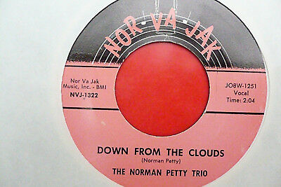 Norman Petty Trio- Down from the clowds- US- Nor-Va-Jak- 1257- Buddy Holly