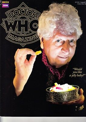 Doctor Who Magazine #501 Tom Baker Extravaganza
