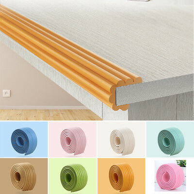 2m Infants Table Edge Guard Protector Foam Strip Baby Safety Desk Cushion Strip