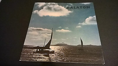 Vintage 1966 Hungary Lake Balaton Budapest souvenir brochure 3 language tourist