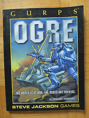 GURPS – OGRE - Steve Jackson Games 6097 – English - roleplay guide tank warfare