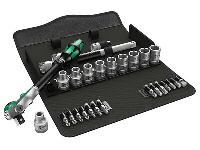 Wera 8100 SC 6 Zyklop Speed Ratchet Metric Set 1/2in Drive WER004076