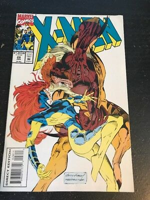 X-men#28 Incredible Condition 9.0(1994) Sabertooth,Andy Kubert Art