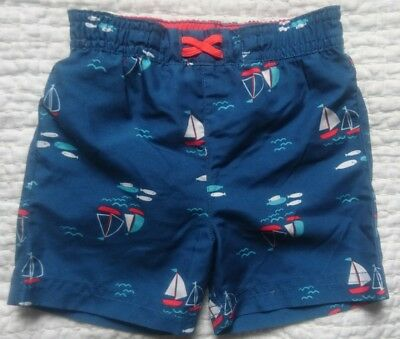 baby boy swim trunks/ shorts M&S