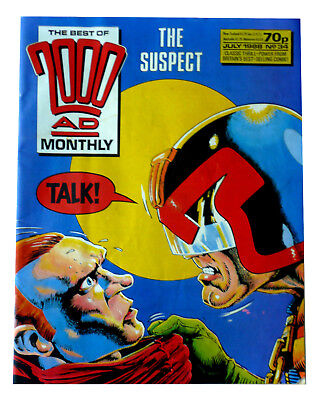 The Best of 2000AD Mothly Comic - Judge Dredd - July 1988 No 34