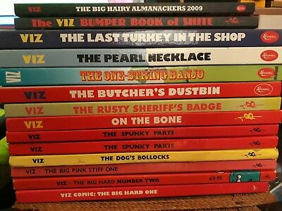 13 Vis annuals from 1987-2008, issues 1 through to 161